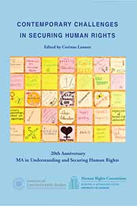cover of 'Contemporary Challenges in Securing Human Rights' (2015)